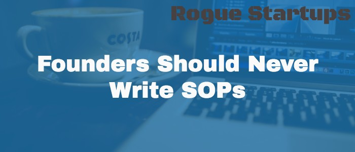 RS067: Founders Should Never Write SOPs
