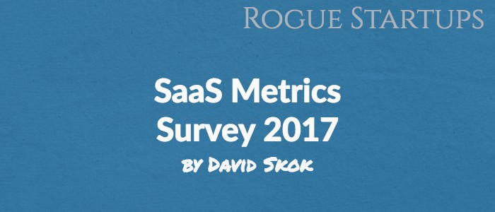 RS111: SaaS Metrics Survey by David Skok