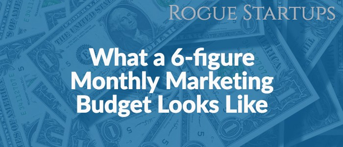 RS147: What a 6-figure Monthly Marketing Budget Looks Like